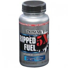 Twinlab - Ripped Fuel 5 X (40 Tablets)
